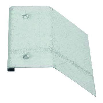 Rheinzink klang voor dakplaat Kliq, verzinkt staal, klang klik, 1-del delen