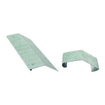 Rheinzink klang voor dakplaat Walsblank, verzinkt staal, klang klik, 1-del delen