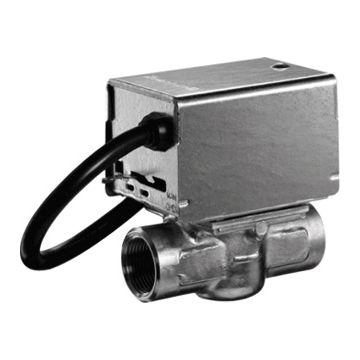 Honeywell elektrische bediening 2-wegregelafsluiter V4043/V8043, huis messing