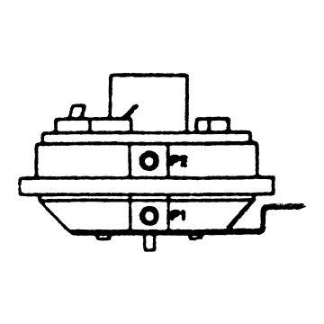 AWB drukschakelaar gasmagneetklep, lucht, druk 0.3-3mbar