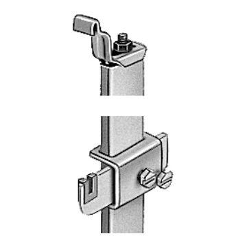 Flamco radiator standcons set 604, RAL 9010, T.b.v. radiator 10. 11. 21. 22 en 33