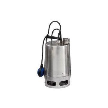 Grundfos UNILIFT AP vuilwaterdompelpomp, max. volumestroom 18 m³ per uur, nom. debiet 9,89 m³ per uur, RVS