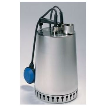 Grundfos UNILIFT AP vuilwaterdompelpomp, max. volumestroom 14 m³ per uur, nom. debiet 9,41 m³ per uur, RVS