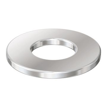 Flamco sluitring S, staal, bi diam 8mm, bu diam 18mm, dikte 1.5mm