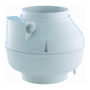 Itho Daalderop buisvent BUTP, le 238mm, beh kunststof, luchthoeveelheid onbelast 210m/h