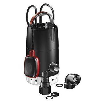 Grundfos UNILIFT CC vuilwaterdompelpomp, max. volumestroom 6 m³ per uur, nom. debiet 2,56 m³ per uur, vezelversterkt kunststof