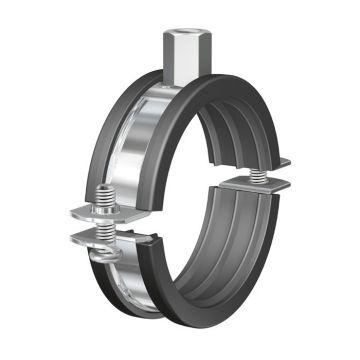 Flamco tweedelige beugel BSI, staal, blank, uitwendige buisdiameter 20-25mm