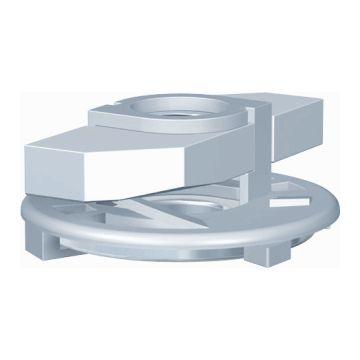 Flamco schuifmoer met veer FSS Clickeasy M, staal, draadmaat (M.) 8
