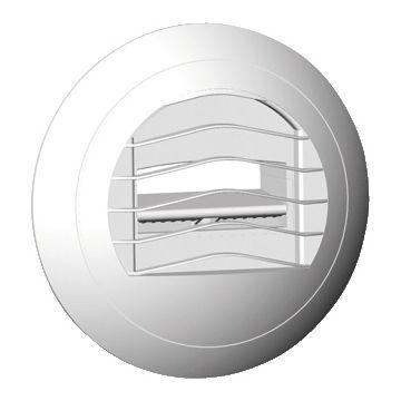 Soler & Palau ventilatieventiel ALIZE, kunststof, wit, rond