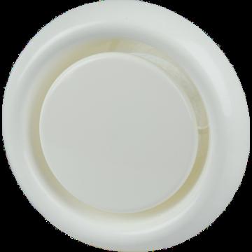 Itho Daalderop ventilatieventiel KLV, kunststof, wit, rond, nom. diam aansluiting 125mm
