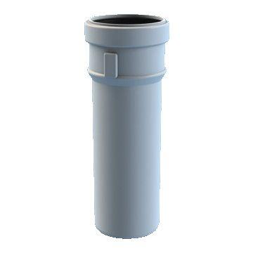 Burgerhout Safe-pp rookgasafvoerbuis 80mm x500mm, wit