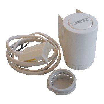 Herz therm servomotor Thermomotoren 7711, wit, ho 59mm, diam 44mm