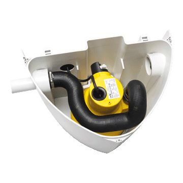 Ksb vuilwaterpompunit Ama-Drainer-box, bovenvloer, 160x321mm