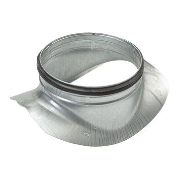 AIR Spiralo rond zadelstuk voor luchtkanaal KEN-LOK, staal sendz verz, le 192mm