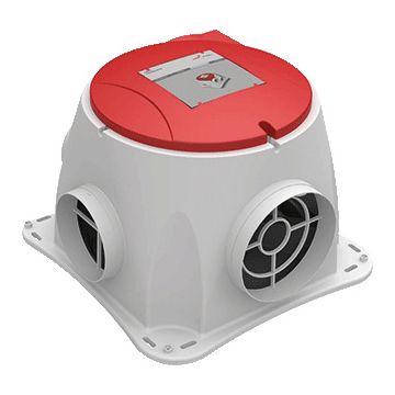 Zehnder woonhuisventilator ComfoFan S, 280x386x386mm, behuizing kunststof
