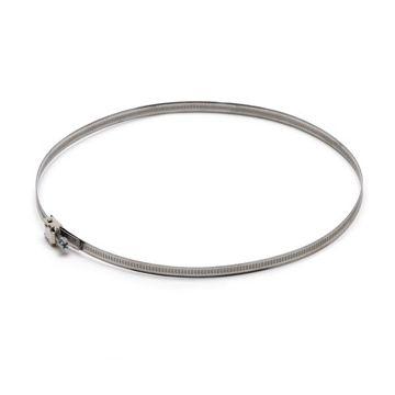 AIR Spiralo wormschroefklem voor slang, band RVS, klembereik 50-175mm bandbreedte