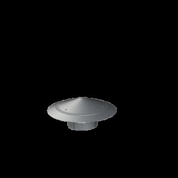 Cox Geelen regenkap enkelw, ho 145mm, regenkap, kap staal