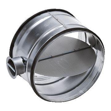 AIR Spiralo regelklep rond luchtkanaal KEN-LOK, staal sendz verz