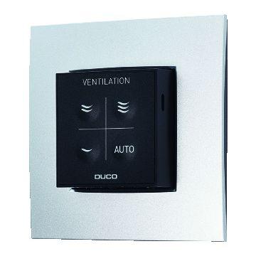 Duco Ventilation CO2 Ruimtesensor RF / 230 VAC sensor, zwart