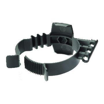 Ubbink beugelklem Rolux PP-zwart, zwart, spanbereik 78-86mm