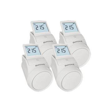 Honeywell evohome HR92WE draadloze radiatorregelaar - voordeelpakket 4 stuks