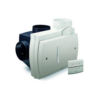 Orcon Compact-10RHB ventilator met RF bediening en vochtsensor