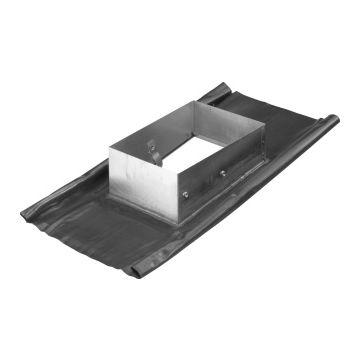 Burgerhout/m&G Mini-Delta 2002 doorvoerplaat, aluminium, plaat lood, systeemdiameter
