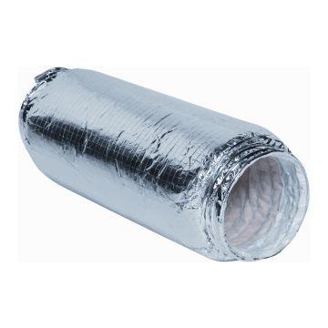 Itho Daalderop FGD flexibele aluminiumbuis, lengte 1m, nom. binnendiameter 152mm geluiddempende