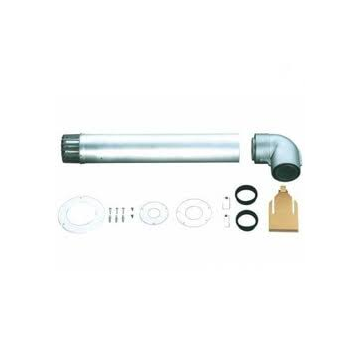 Bosch rookgasmuurdoorvoer, max. mediumtemperatuur (continu) 0-200°C, systeemtype