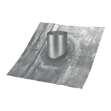 Burgerhout/m&G Vaste loodslab doorvoerplaat, plaat lood, systeemdiameter 198mm