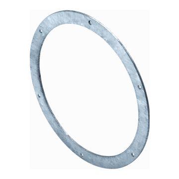 AIR Spiralo vlakke flens rond luchtkanaal, staal sendzimir verzinkt, oppervlaktebescherming