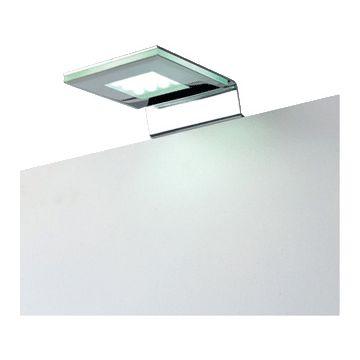 Silkline Squadra badkamerverlichting meubelarmatuur, chroom, (lxbxh) 135x88x28mm