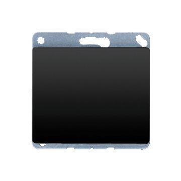 JUNG SL500 bedieningselement/centraalplaat, metaal, zwart, uitvoering blindplaat