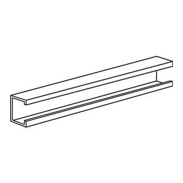 Eaton Halyester montagerail/-profiel, staal, (bxh) 20x20mm profielvorm
