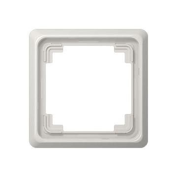 JUNG CD Plus afdekraam kunststof, grijs, (bxhxd) 84x84x8.6mm