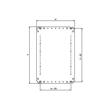 Eldon montpl kast/less amp05050