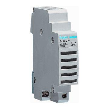 Hager zoemer, nom. spanning 230V, type stroom AC, stroomverbruik 0.03A, beschermingsgraad