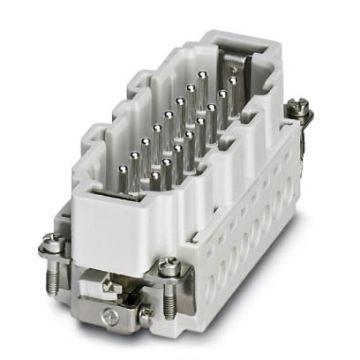 Phoenix Contact HC contactblok industriële connector, met draadbescherming