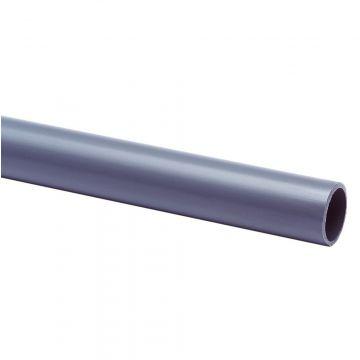 Wavin kunststof installatiebuis, PVC, grijs, buitendiameter 16mm buigweerstand