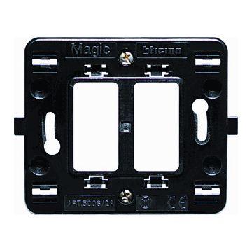 Legrand BTicino Magic montageraam module kunststof, 2 eenheden