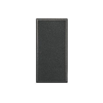 Legrand BTicino Axolute blindplaat drukknop/signaallamp kunststof, antraciet
