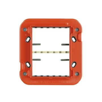 Legrand BTicino Axolute montageraam module kunststof, 6 eenheden