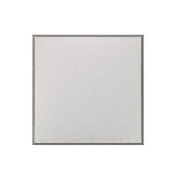 Legrand BTicino Axolute blindplaat drukknop/signaallamp kunststof, wit, frontvorm