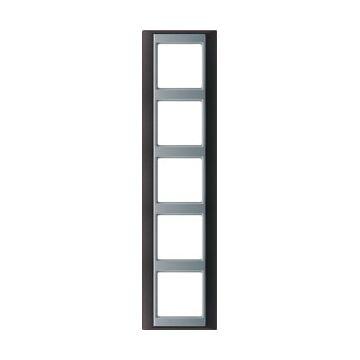 JUNG A Plus afdekraam kunststof, antraciet, (bxhxd) 93x373x10.4mm