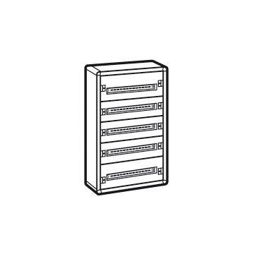Legrand XL3 160 modulaire verdeelkast, (hxbxd) 900x575x147mm behuizing plaatstaalaal