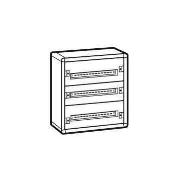Legrand XL3 160 modulaire verdeelkast, (hxbxd) 600x575x147mm behuizing plaatstaalaal