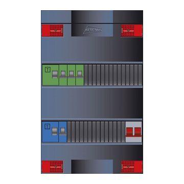 Attema Click-mate XL-plus XLAG installatiekast, (hxbxd) 380x220x100mm 1 fasen