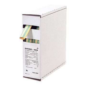 Thomas & Betts Shrink-Kon® GYS krimpslang, vernet polyolefine, geel/groen