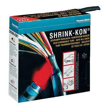 Thomas & Betts Shrink-Kon® PIG krimpslang, vernet polyolefine, zwart, lengte