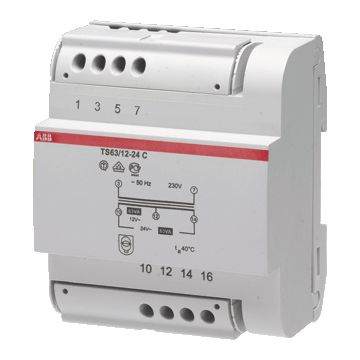 ABB System pro met 1-fase stuurtransformator, (bxhxd) 87.5x100x58mm uitgevoerd